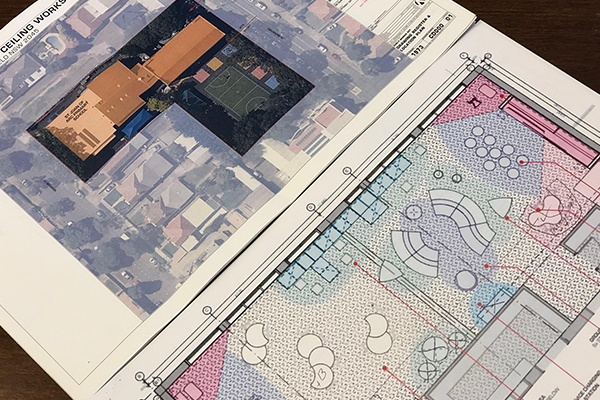 Renovation plans for Year 3 classroom at St Joan of Arc Catholic Primary School Haberfield